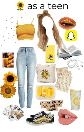 🌻 as a teenager