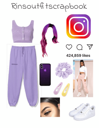 instagram as a person💜