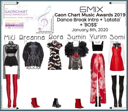 《6mix》Gaon Chart Music Awards 2019 - Performance