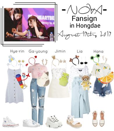 -NOVA- Fansign in Hongdae