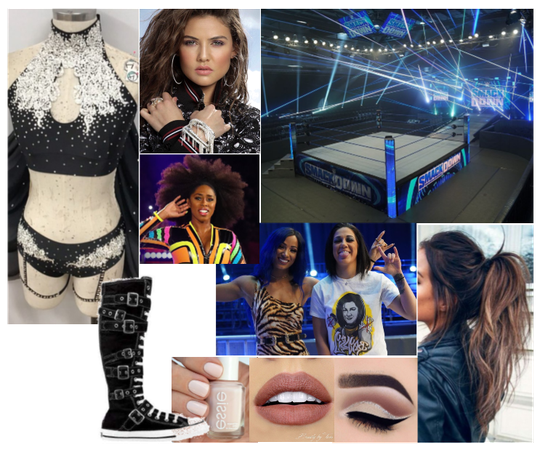 Smackdown: Riley & Naomi vs. Bayley & Sasha