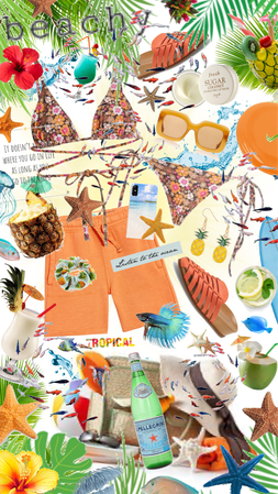 A little chaotic but Beachy!
