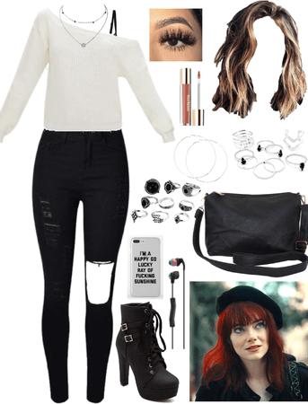 Cruella Gilbert Inspired Outfit