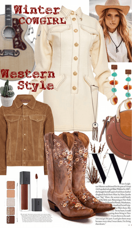 Winter Cowgirl - Western Style