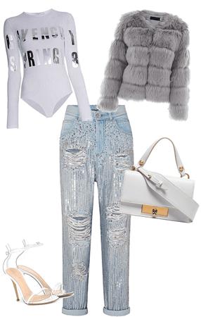 fancy white