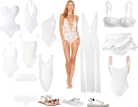 Go light in white - it's a Holiday!