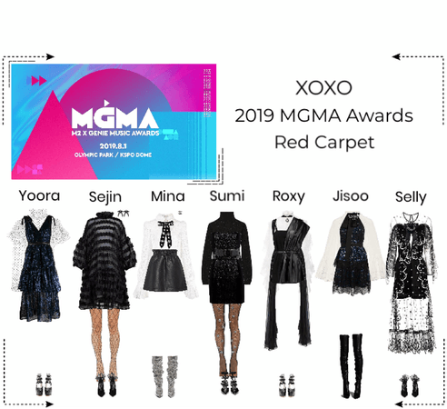 XOXO 2019 MGMA Awards Red Carpet