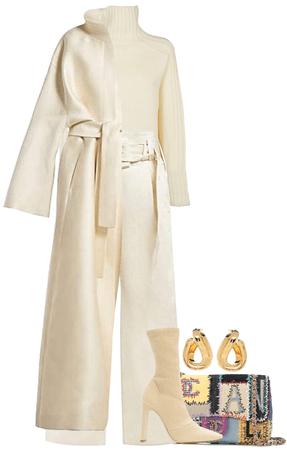 White elegance during winter