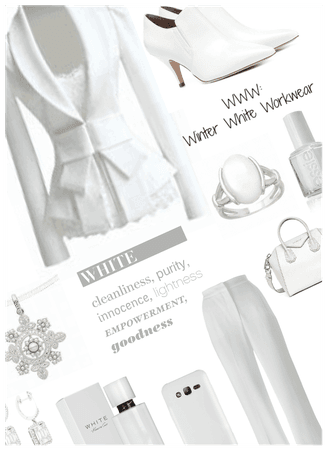 WWW: Winter white workwear
