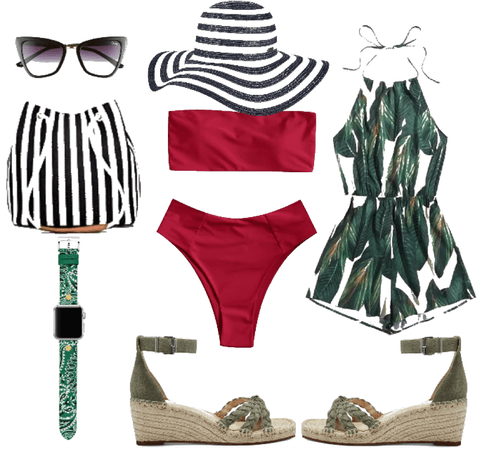 beach & Drink up outfit