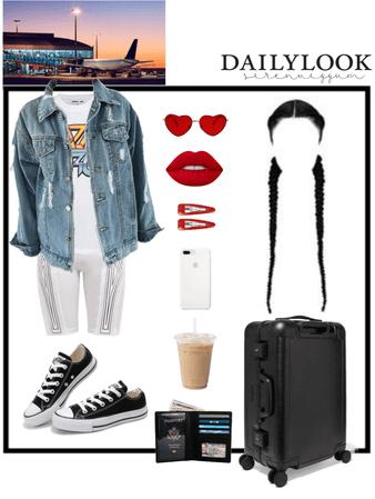 공항 패션 (여행!)