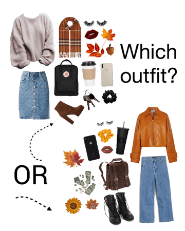 Which Fall Outfit?