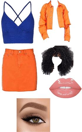 blue+orange=happiness