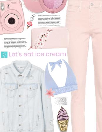 Strawberry Flavored Icecream