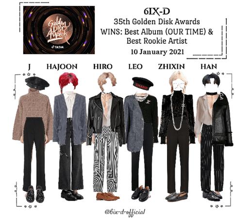 6IX-D [씩스띠] 35th Golden Disk Awards 210110