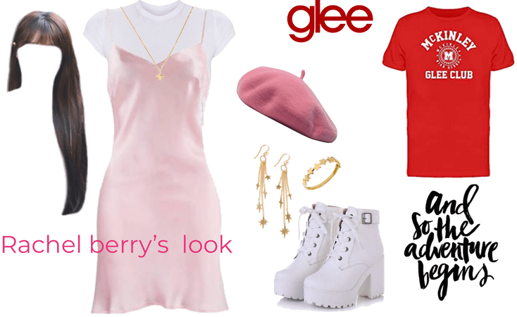 GLEE Rachel berry outfit!