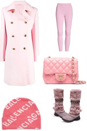 #Pinkgirlwinter