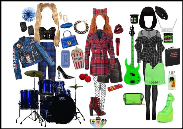 Punk Rock Powerpuff Girls