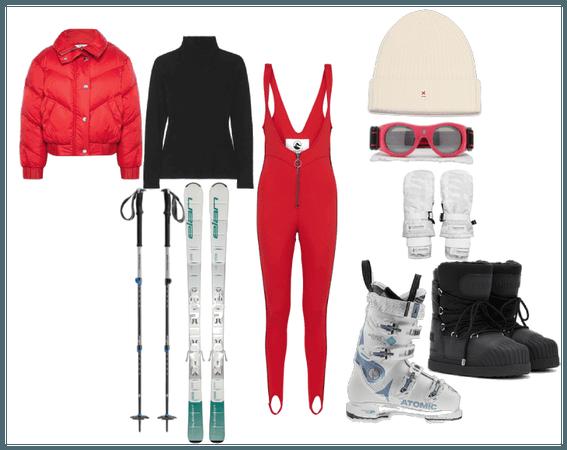 Lizzie Skiing Holiday at Zermatt
