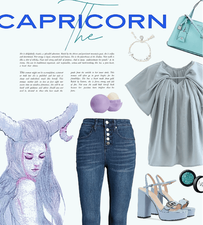 a Capricorn flair
