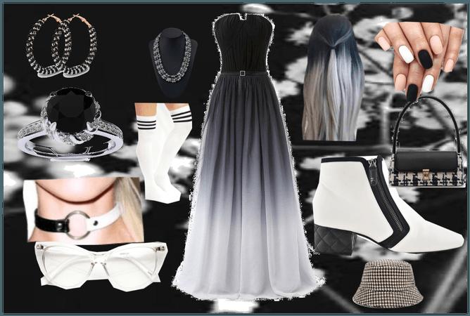 Black+White party