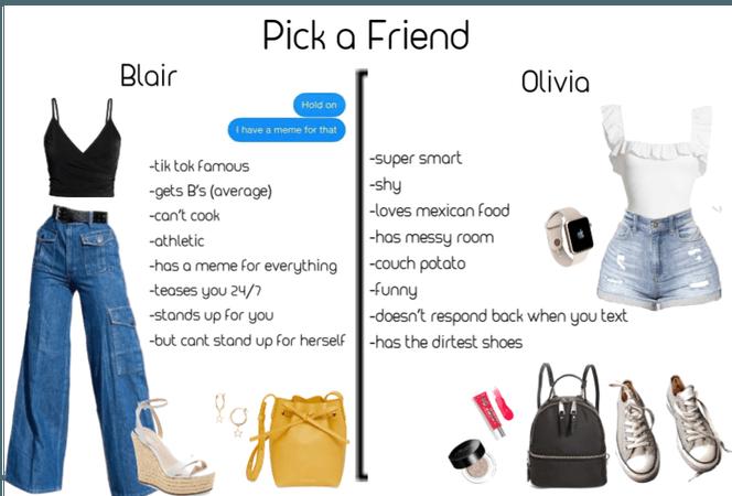 Pick a friend