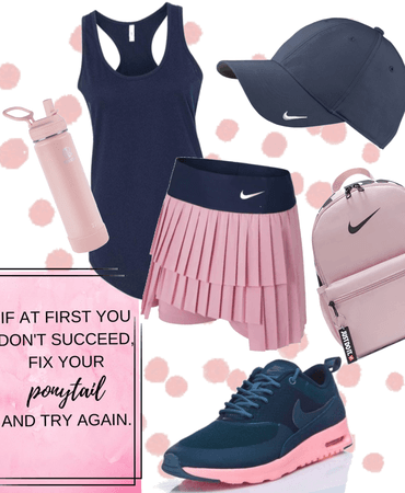 Active Pleated Skirt