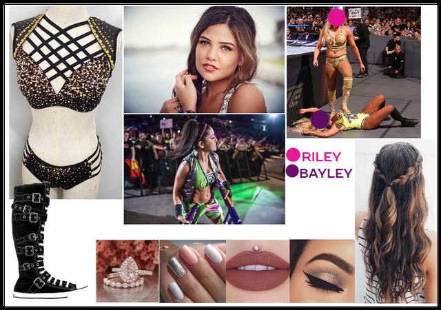 Raw: Riley Vs. Bayley