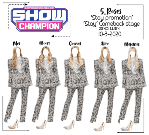 5roses 'Stay Comeback Stage '2nd win'