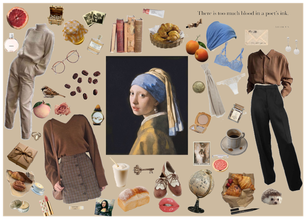 people as paintings #5: Girl with a pearl earring