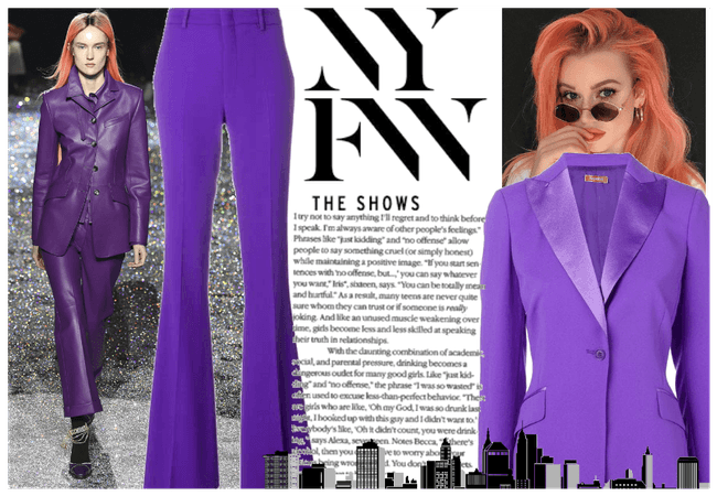 Purple Rain in New York City