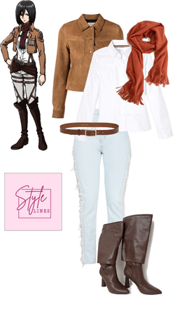 mikasa outfit