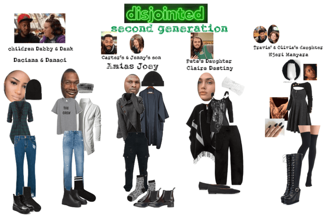 disjointed OCs
