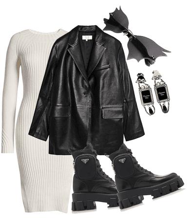 dress and coat challenge