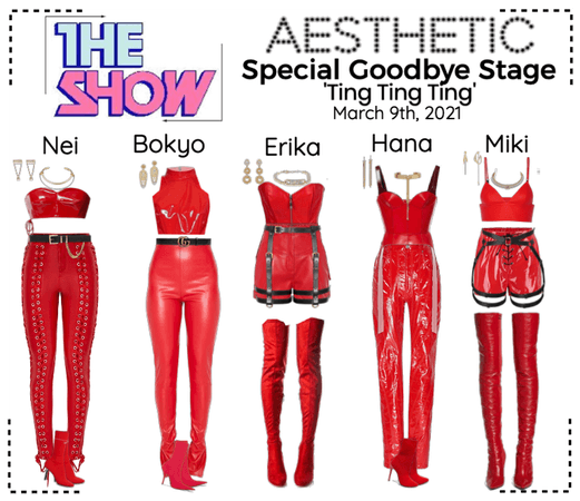 AESTHETIC (미적) [THE SHOW] Special Goodbye Stage
