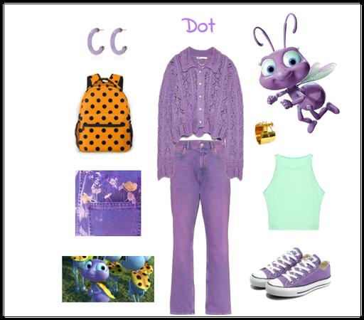 Dot outfit - Disneybounding