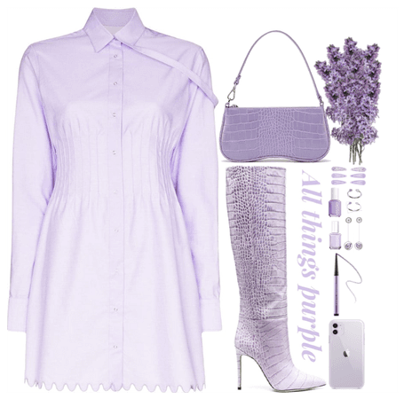 Purple Monochromatic