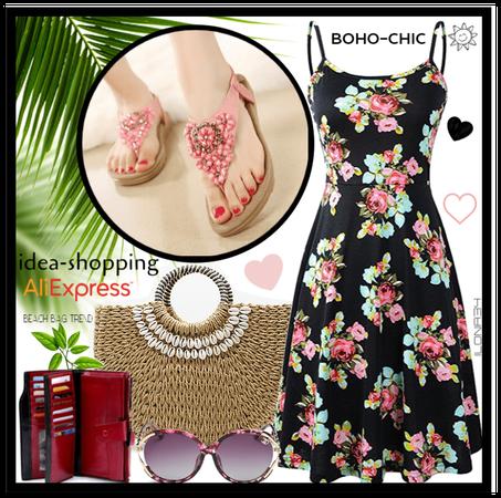 boho summer dresse