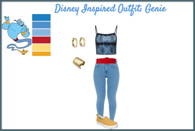 Disney Inspired Outfits: Genie