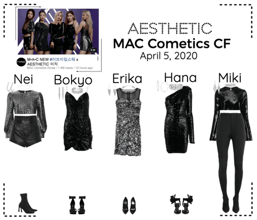 AESTHETIC (미적) MAC Cometics CF