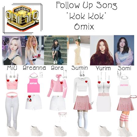 6mix - Follow Up Song 'Kok Kok' At Inkigayo