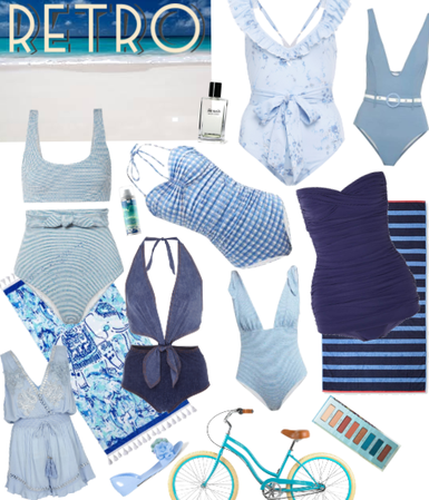 Retro Inspired Swim Trends