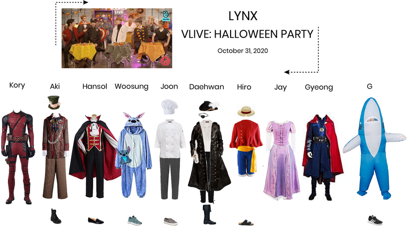 Lynx// VLIVE HALLOWEEN PARTY