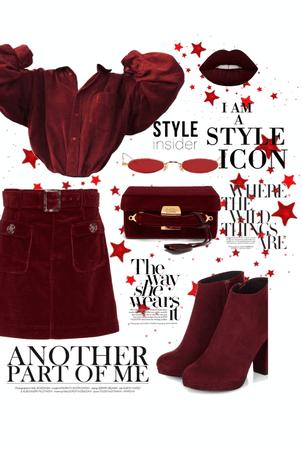 red ' marron