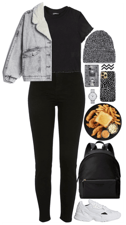 Black Casual. My style!