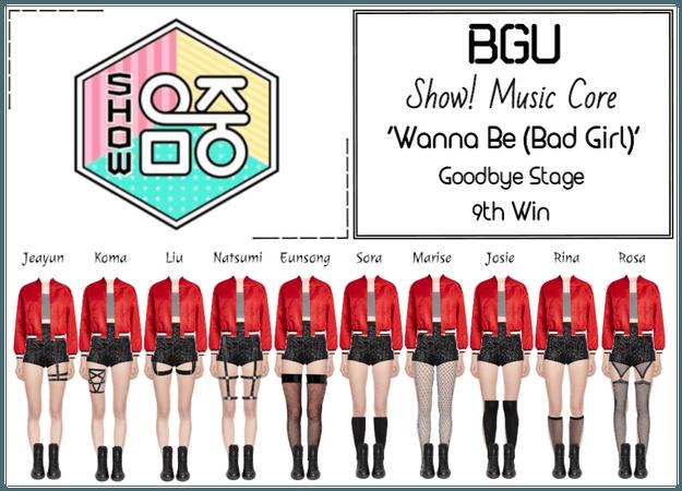 BGU Show! Music Core 'Wanna Be (Bad Girl)'