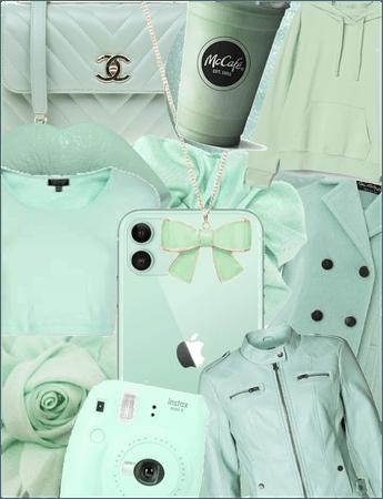 Mint green aesthetic