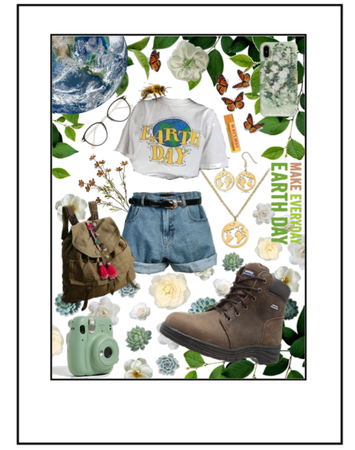 Dress For Earth Day: Save The World