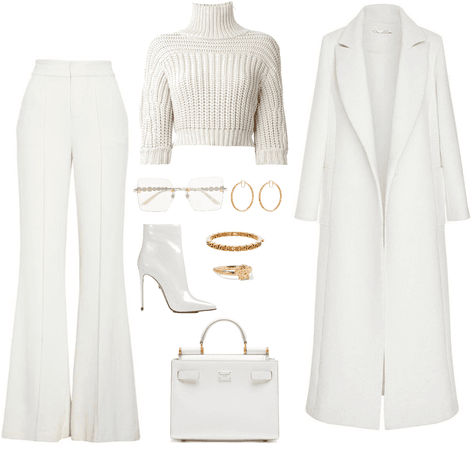 White coat outf