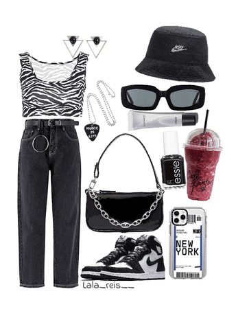 Casual Black Outfit